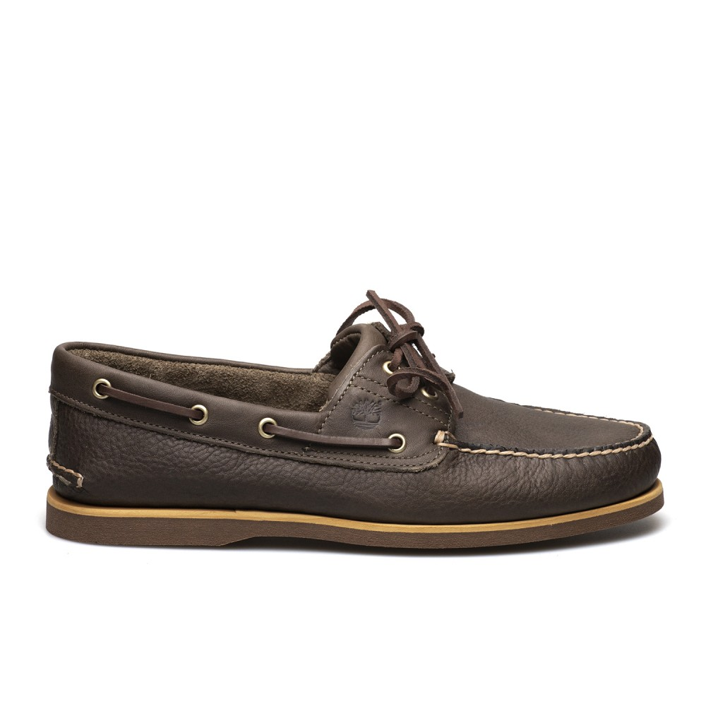 TIMBERLAND ΑΝΔΡΙΚΑ CLASSIC BOAT SHOES A2AFC 901 ΣΚΟΥΡΟ ΚΑΦΕ